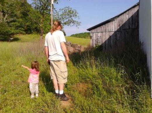 My girl Thia and me.