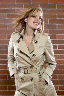The trench classic - with or without clothing it works