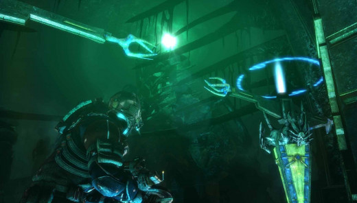 Dead Space 3 reconfigure the Codex by aligning the structures.