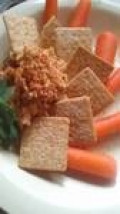 Serve with crackers, veggies, or try my homemade tortilla recipe for a great dip-able flat bread!