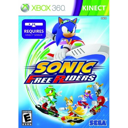 Sonic Free Riders Box Art