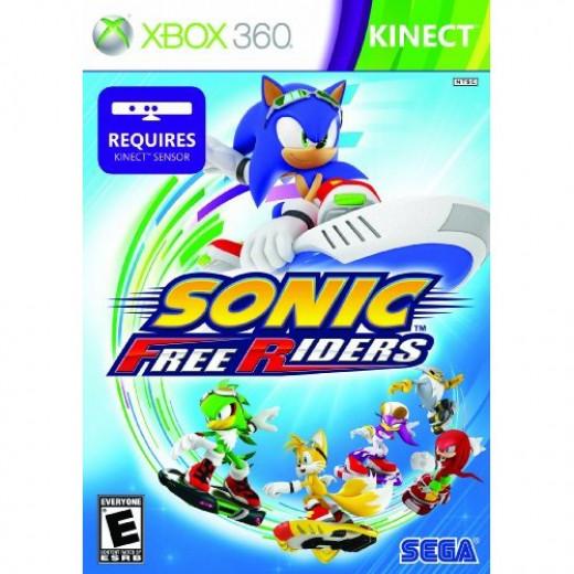 Sonic Free Riders Box Art
