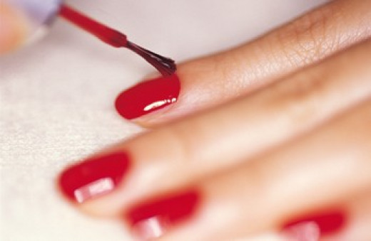 I do paint my nails, but not all the time. I believe that doing this sparingly helps keeps your nails healthy!