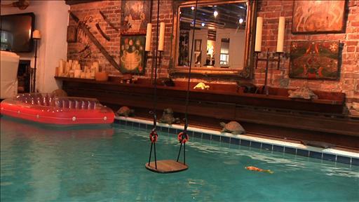 Fantastic indoor swimming pools living rooms with lap lanes included hubpages Red house hotel swimming pool