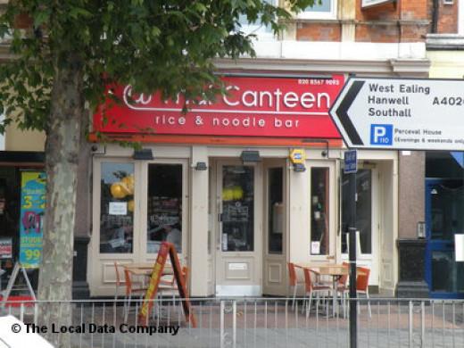 Thai Canteen restaurant in Ealing, London