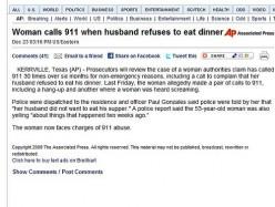 911 Abuse