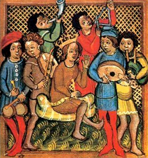 Troubadours, 14th century