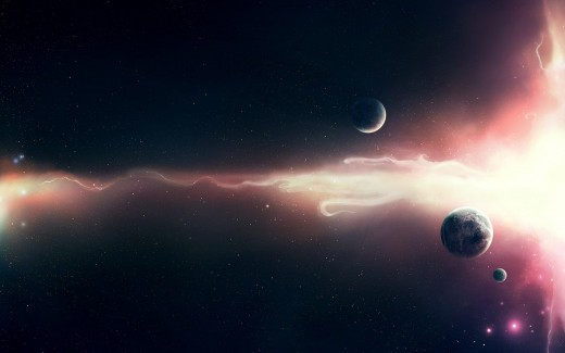 Space planet wallpaper is well known liked by many science-fiction lover.