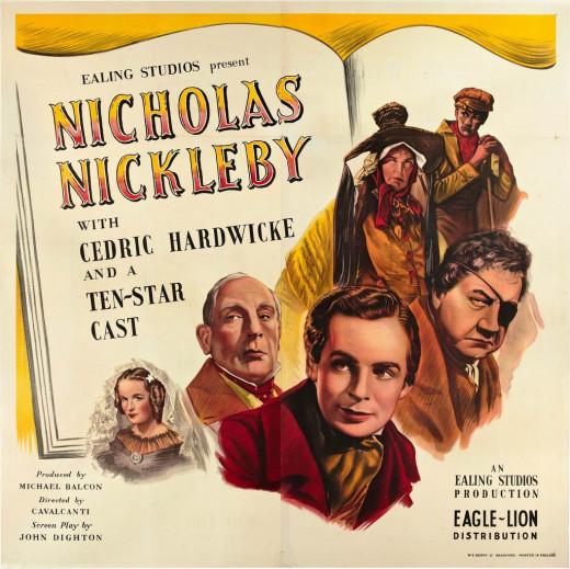 Nicholas Nickleby (1947) poster