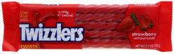 What is the best way to eat a Twizzler?