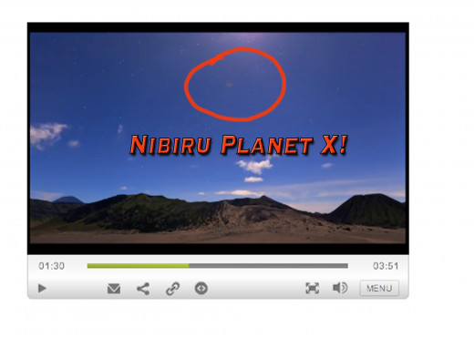 Could this be a daylight image of Nibiru Planet X?