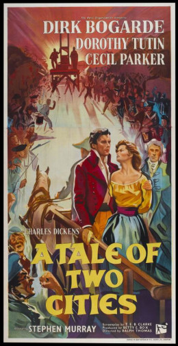 A Tale of Two Cities (1958) poster