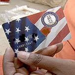 Why are food stamp cards not monitored