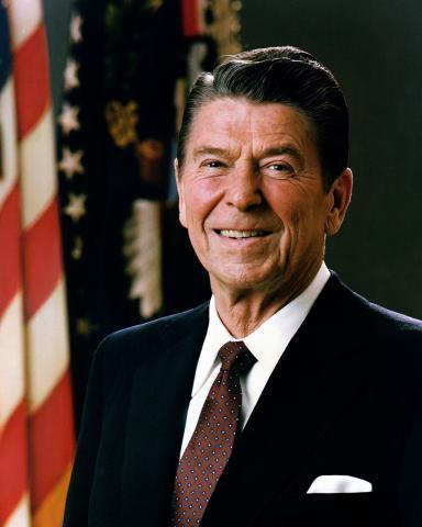 Official Portrait, President Ronald Reagan