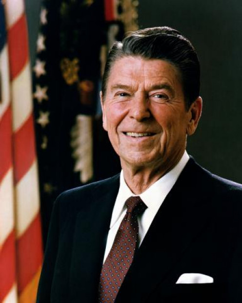 Official Portrait, President Ronald Reagan