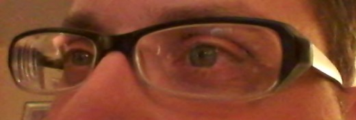 My new pair of glasses bought from the Zenni Optical site