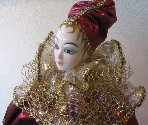Antique porcelain china doll