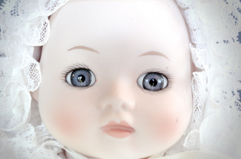 Do you have an antique porcelain china doll?
