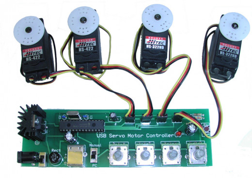Servo Motors with controller