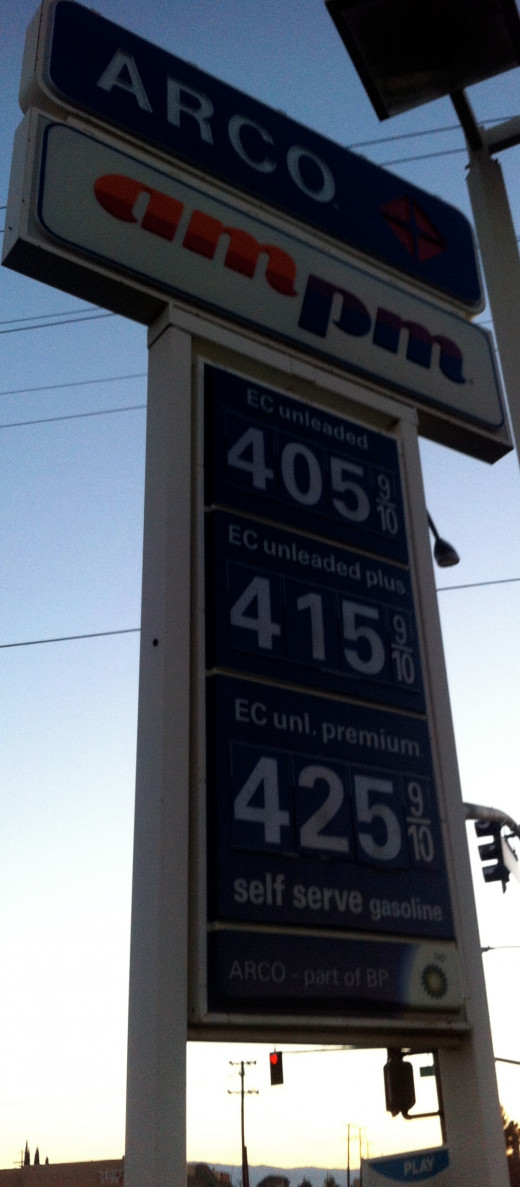 High gas prices loom over drivers as they try to find the lowest gas price.