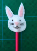 Easter Bunny Craft: Bunny Puppet