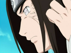 Hyuuga Neji in one of Naruto Shippuuden episodes