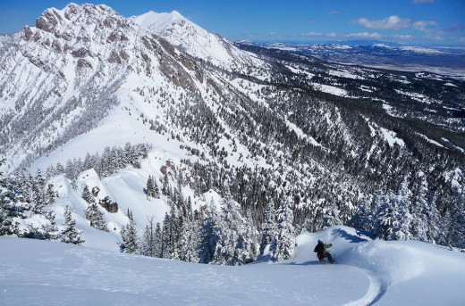 Bridger Bowl Ski Resort, Bozeman, MT