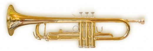 A beautiful and clean trumpet
