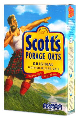 Scott's uses only the highest quality oats