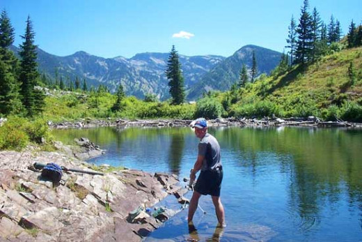 Enjoy your surrounding while improving your fishing skills, here in Montana