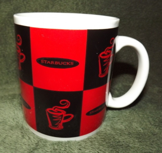1995 Starbucks Mug (Jackal Designs)