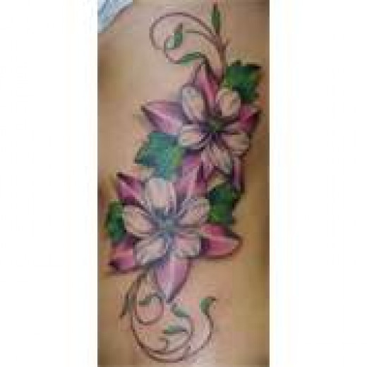 Jasmine tattoo on hand