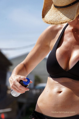 One of the most important things to pack on a summer vacation is sunscreen.