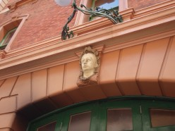 THE HEAD OF QUEEN VICTORIA FOUND IN SYDNEY, AUSTRALIA