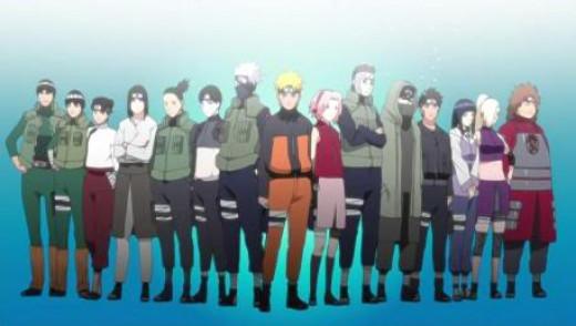 Naruto Shippuuden characters