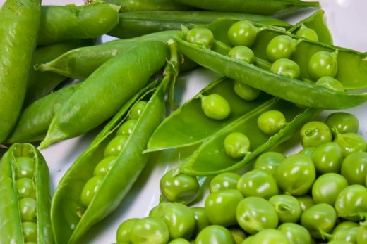 Peas are fantastic from the garden. With proper companion planting, you can enjoy fresh peas and some other veggies from the same area.