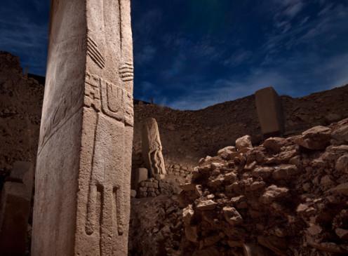 Pillars at Gobekli Tepe