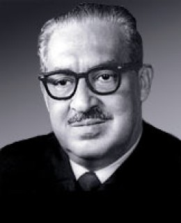 Thurgood Marshall 1908 - 1993. Firts African-American Supreme Court Associate Justice