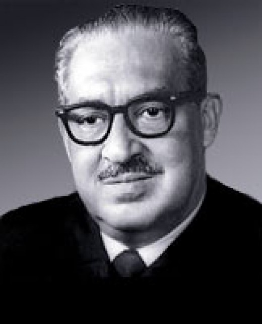 Thurgood Marshall 1908 - 1993. First African-American Supreme Court Associate Justice