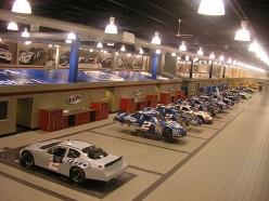 The Penske Racing garage in Mooresville, North Carolina. Taken by MrMiscellanious