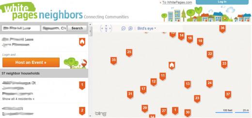Neighborhoods Results Page