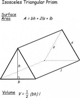 Triangular Pyramid Volume And Area