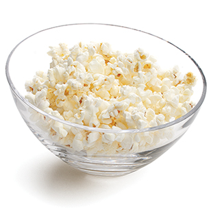 Can you believe popcorn is a recommended whole grain?