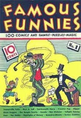 Famous Funnies # 1
