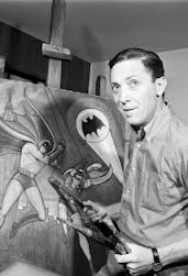 Bob Kane creator of Batman.