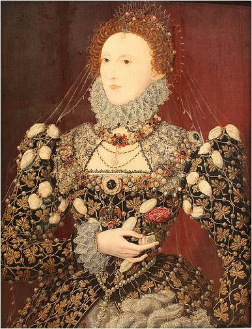 "Queen Elizabeth I - victim of Blarney Castle's Laird, Dermot McCarthy's ""blarney"""