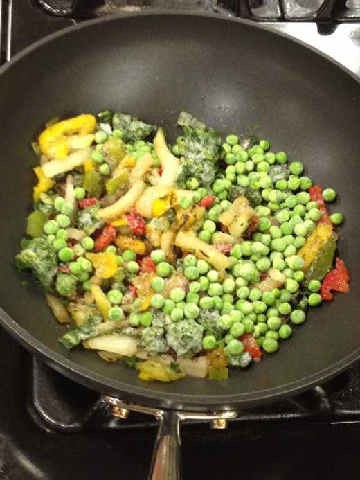 Frozen Vegetables are Ready to Stir-Fry