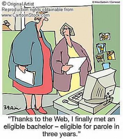 Social network cartoon