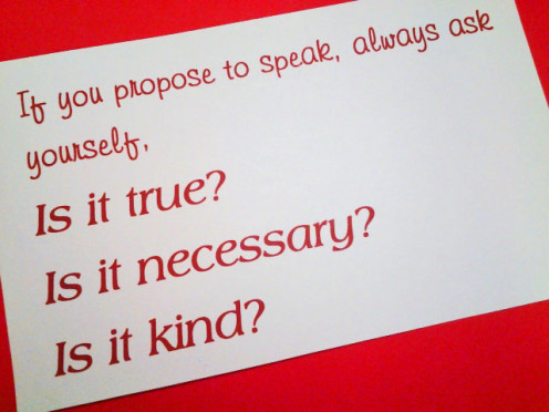 Is it Kind? Quote