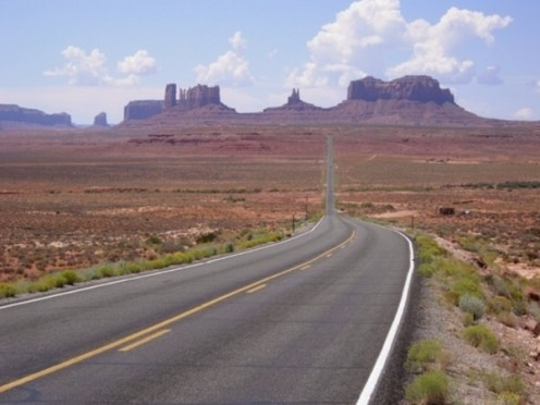 Monument Valley, Arizona Highway 163N